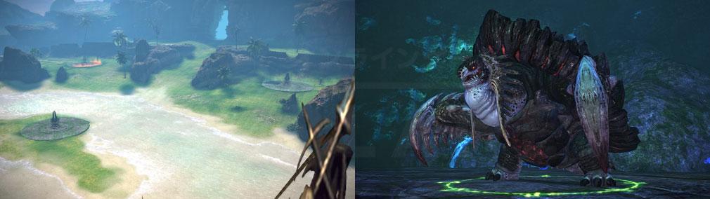 TERA(テラ The Exiled Realm of Arborea) 新たな戦場『白浜の占領戦』、モンスタースクリーンショット