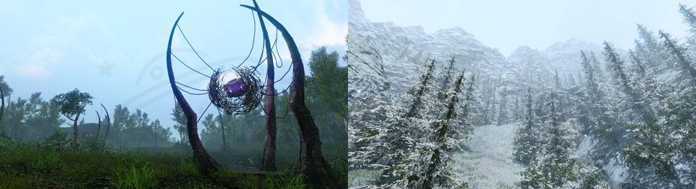 アーキエイジ(ArcheAge) 新マップとして実装される『ヒラマ山脈西部』スクリーンショット