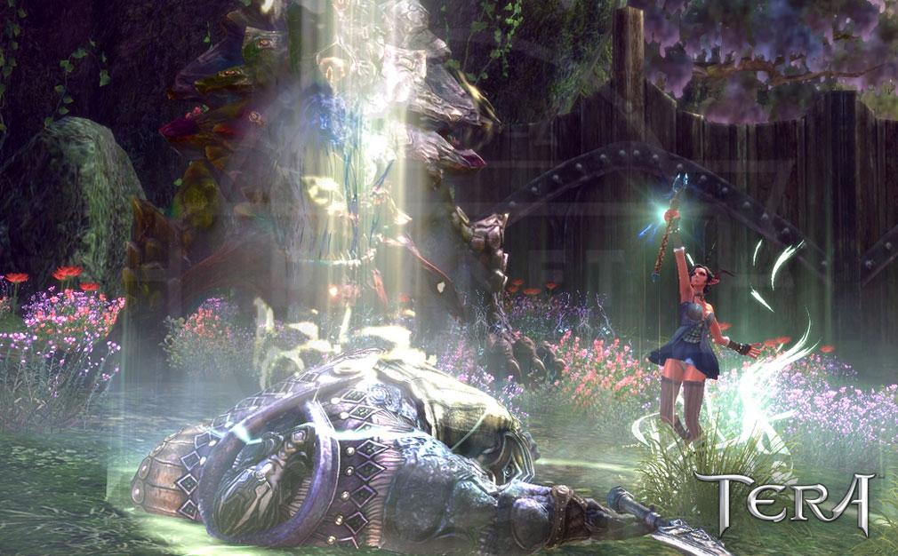 TERA(テラ The Exiled Realm of Arborea) 回復クラスの『キャスタニック』スクリーンショット