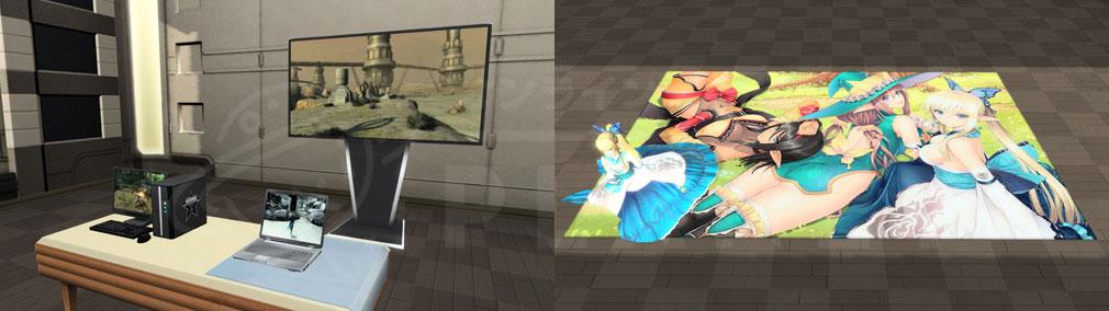 ファンタシースターオンライン2 PHANTASY STAR ONLINE2 (PSO2) カスタムマイルームインテリアアイテムスクリーンショット