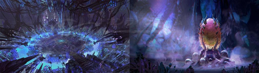 TERA(テラ The Exiled Realm of Arborea) 新ダンジョン『パルクイーンの巣』内部スクリーンショット