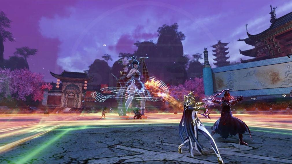 アーキエイジ(ArcheAge) 無限の歌姫『アリア』バトルスクリーンショット