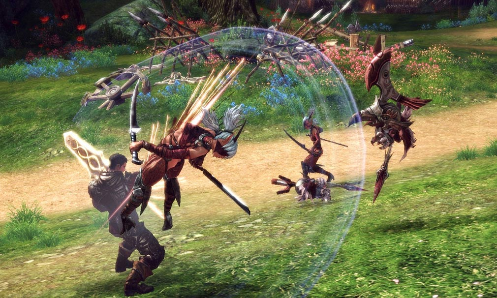 TERA(テラ The Exiled Realm of Arborea) ノンタゲアクション