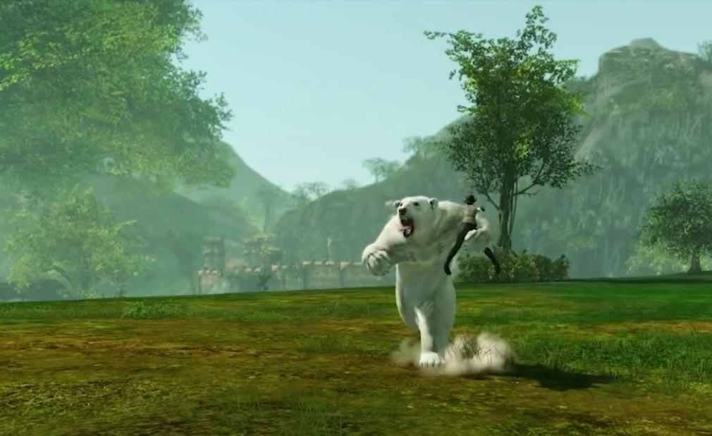 アーキエイジ(ArcheAge) 戦闘・騎乗用ペット白熊