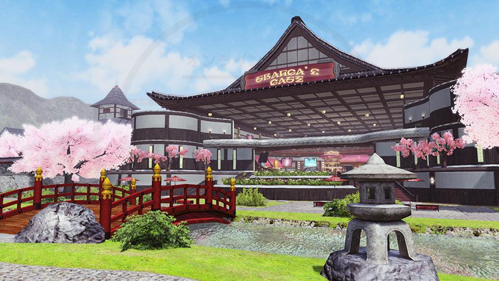 ファンタシースターオンライン2 PHANTASY STAR ONLINE2 (PSO2) 『桜のカフェ』スクリーンショット