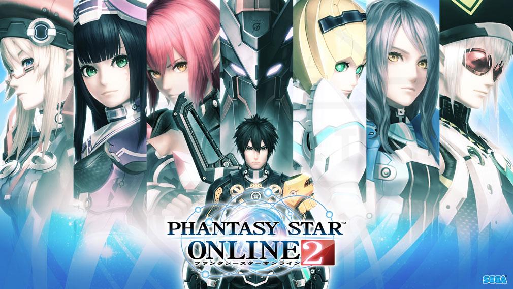 ファンタシースターオンライン2 PHANTASY STAR ONLINE2 (PSO2) 種族一覧イメージ