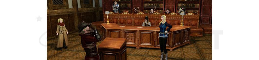 アーキエイジ(ArcheAge) 裁判中のスクリーンショット