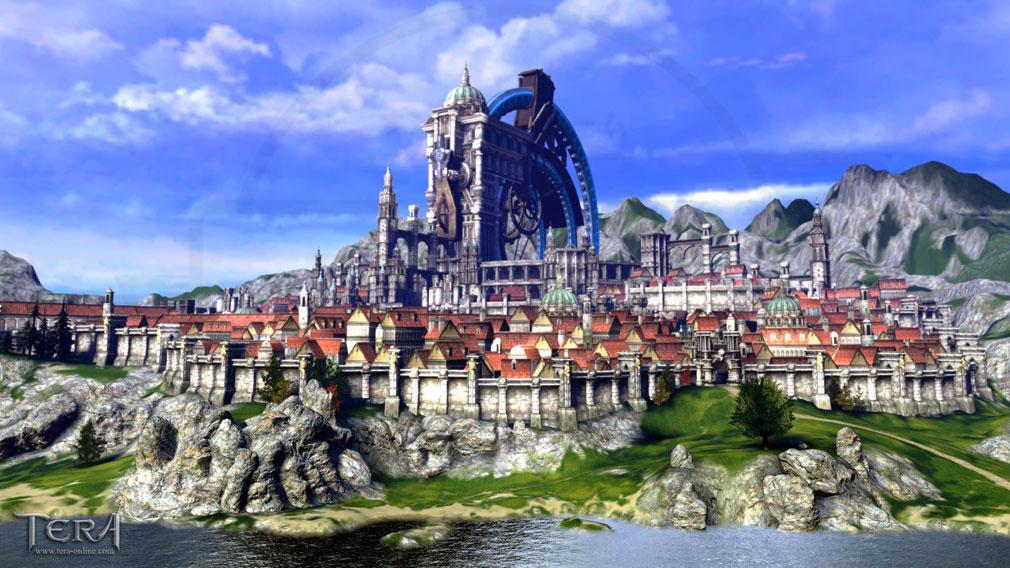 TERA(テラ The Exiled Realm of Arborea) アルン大陸『ヴェリカ』スクリーンショット