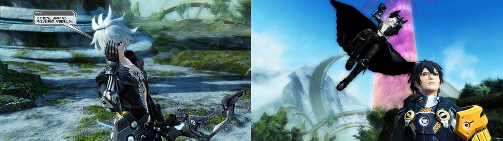 ファンタシースターオンライン2 PHANTASY STAR ONLINE2 (PSO2) 新キャラクター『キョクヤ』スクリーンショット