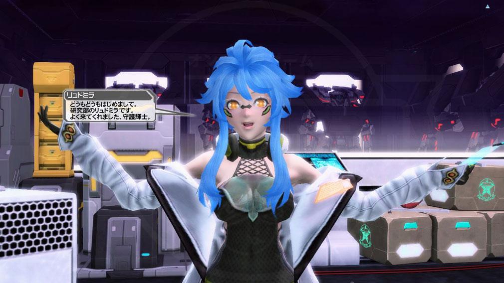 ファンタシースターオンライン2 PHANTASY STAR ONLINE2 (PSO2) 新キャラクター『リュドミラ』スクリーンショット