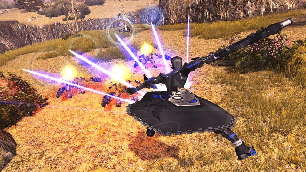 ファンタシースターオンライン2 PHANTASY STAR ONLINE2 (PSO2) ファントム用『ライフルPA(フォトンアーツ)』スクリーンショット