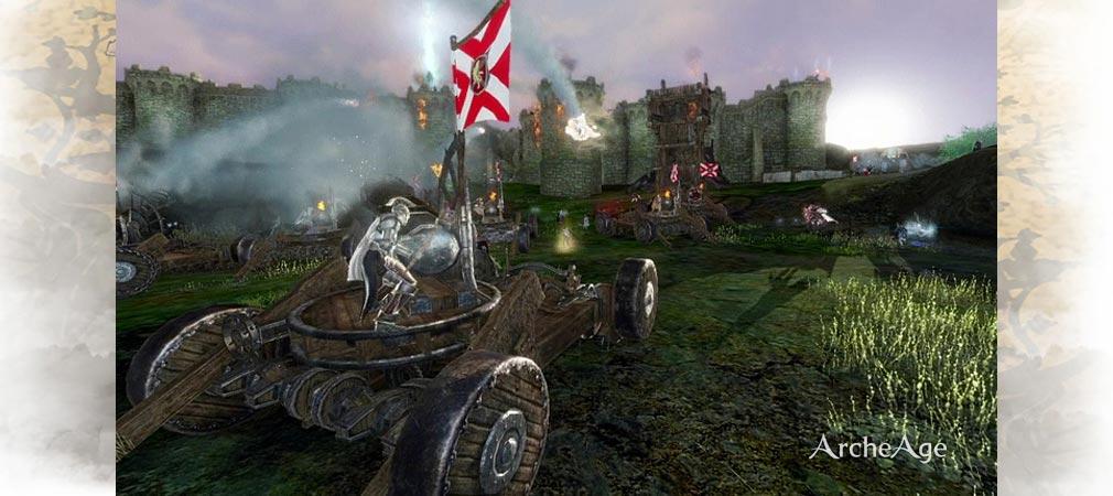 アーキエイジ(ArcheAge) 攻城戦1