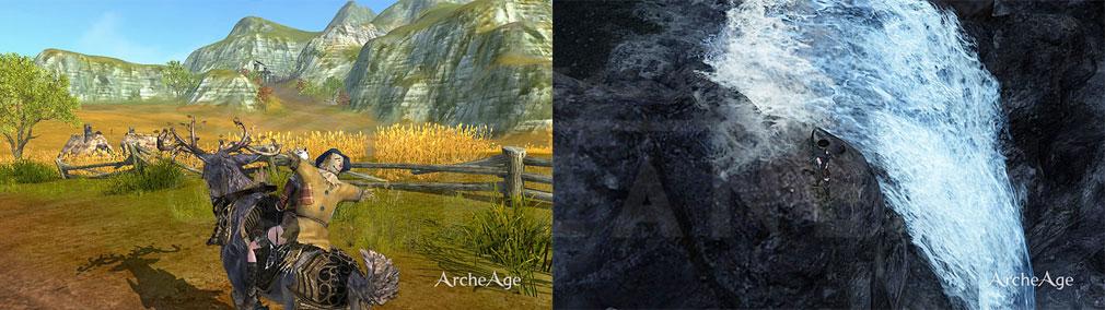 アーキエイジ(ArcheAge) かかし、釣りスクリーンショット