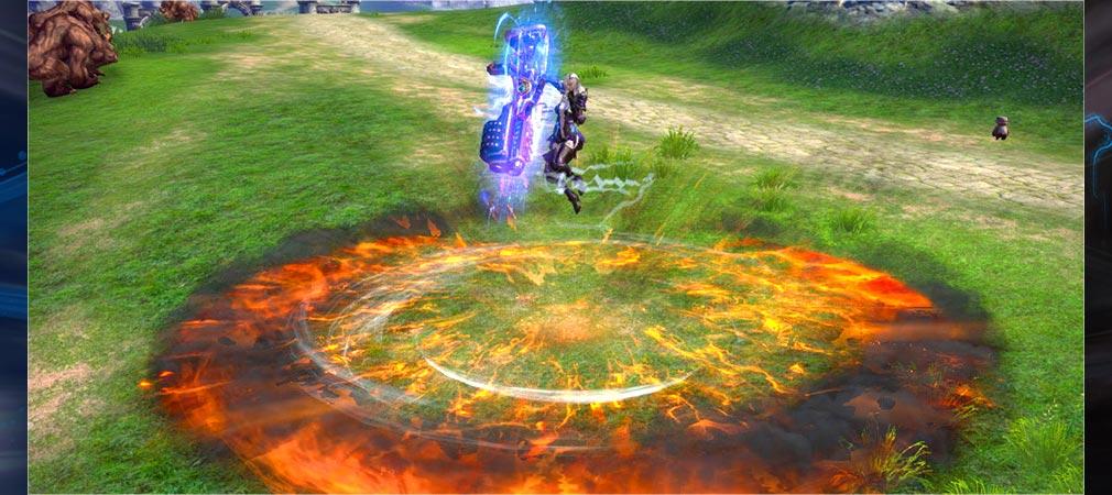 TERA(テラ The Exiled Ream of Arborea) ヘビーガンナースキル2