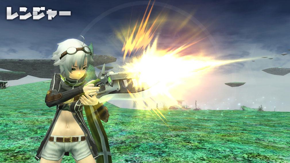 ファンタシースターオンライン2 PHANTASY STAR ONLINE2 (PSO2) クラス『レンジャー』スクリーンショット