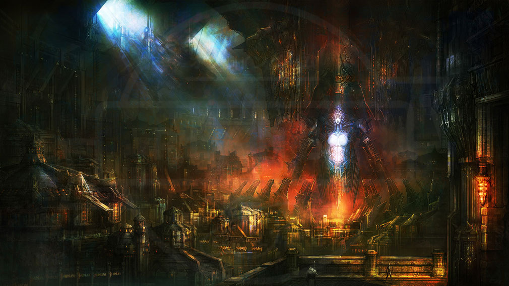 TERA(テラ The Exiled Realm of Arborea) シャラ大陸北部『カイアトール』スクリーンショット