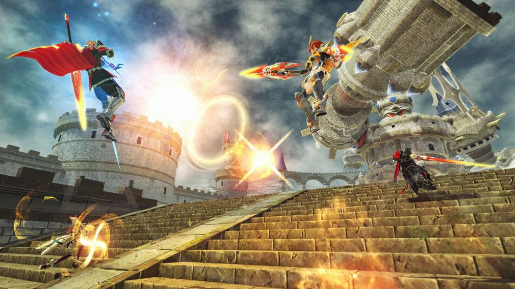 ファンタシースターオンライン2 PHANTASY STAR ONLINE2 (PSO2) 『HERO EPISODE5』上級クラスヒーローのスクリーンショット