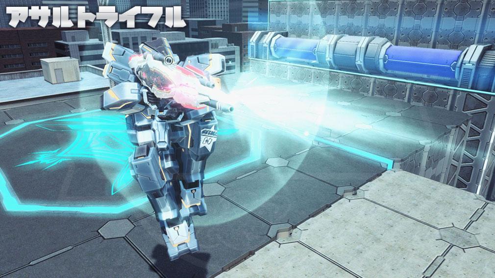 ファンタシースターオンライン2 PHANTASY STAR ONLINE2 (PSO2) バトルアリーナで新たに使用できる『アサルトライフル』スクリーンショット