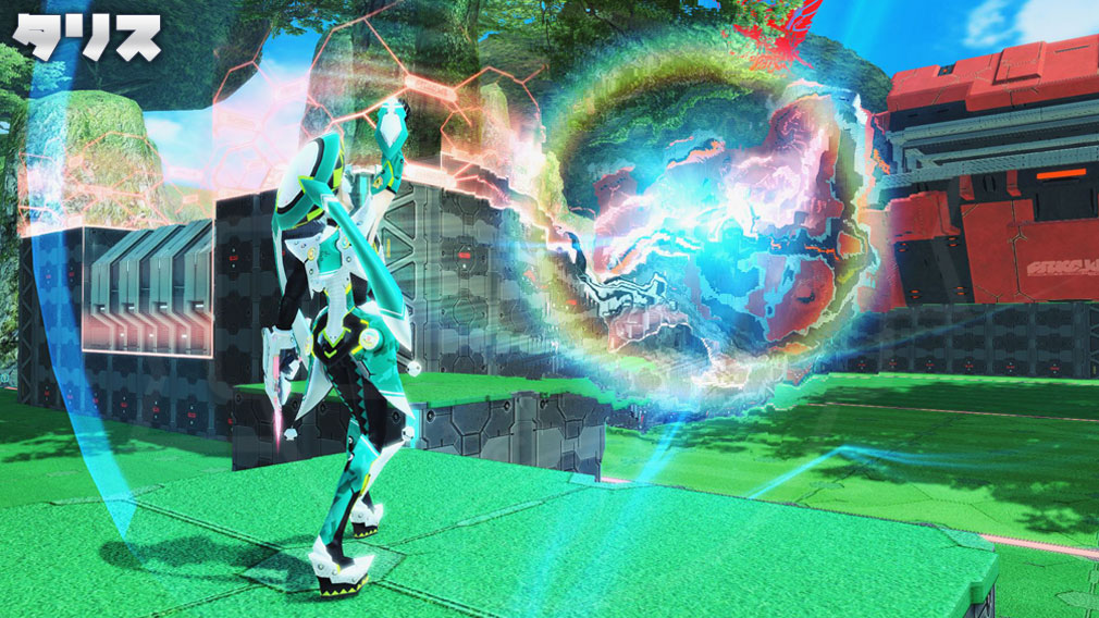 ファンタシースターオンライン2 PHANTASY STAR ONLINE2 (PSO2) バトルアリーナで新たに使用できる『タリス』スクリーンショット