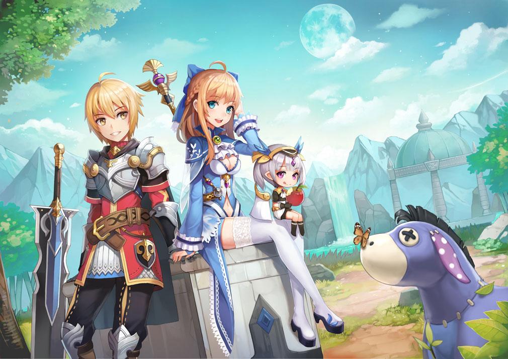 Luna: 月光盗賊団(ルナ: 月光盗賊団) ネラ王国スクショ