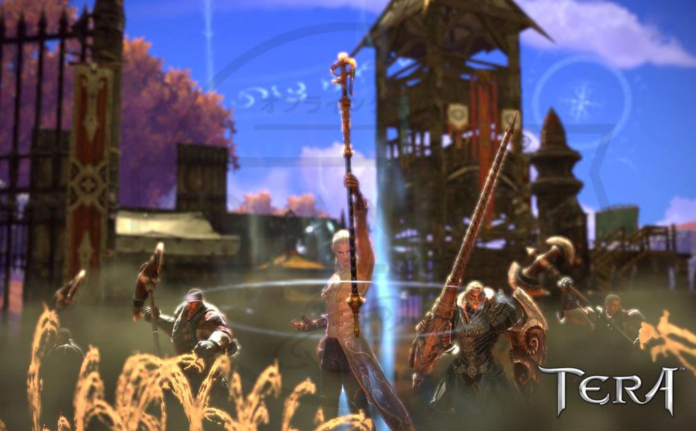 TERA(テラ The Exiled Realm of Arborea) いくつかの種族達で構成されたヴァルキオン連合スクリーンショット
