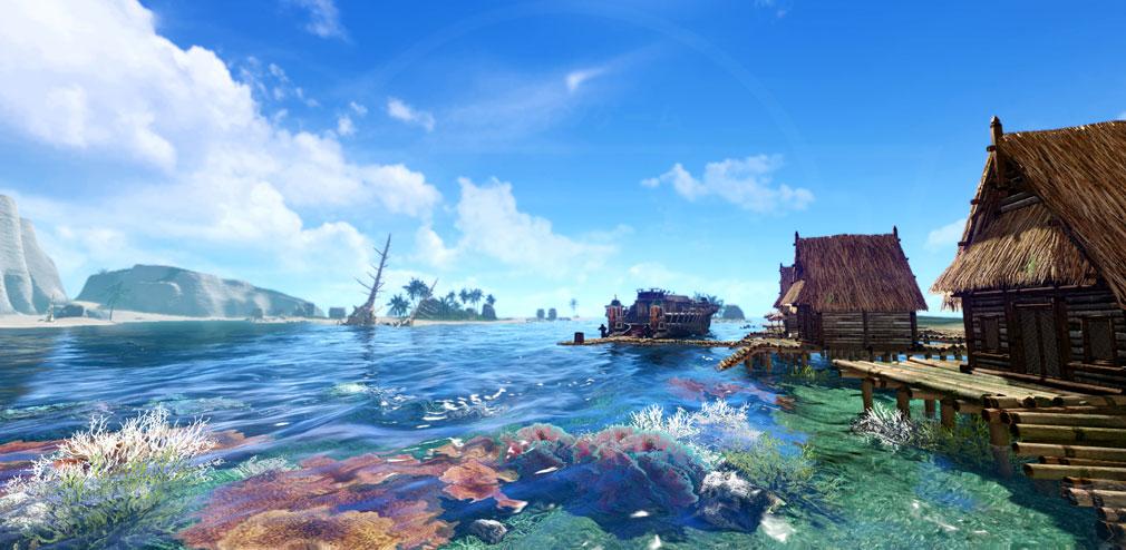 アーキエイジ(ArcheAge) 鮮やかな海のグラフィックススクリーンショット