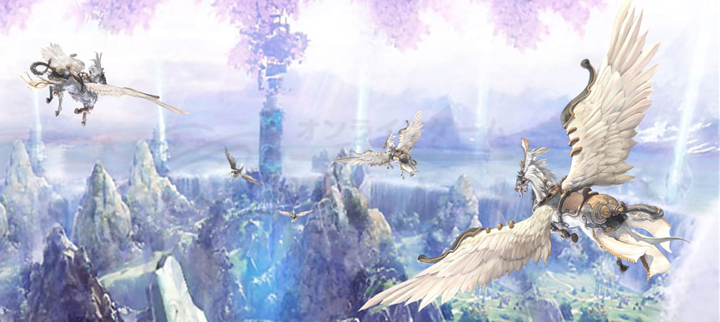 TERA(テラ The Exiled Realm of Arborea) ファンタジーな世界観イメージ