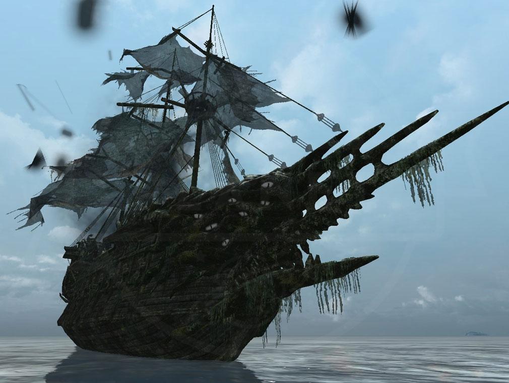 アーキエイジ(ArcheAge) デルフィナードの幽霊船スクリーンショット