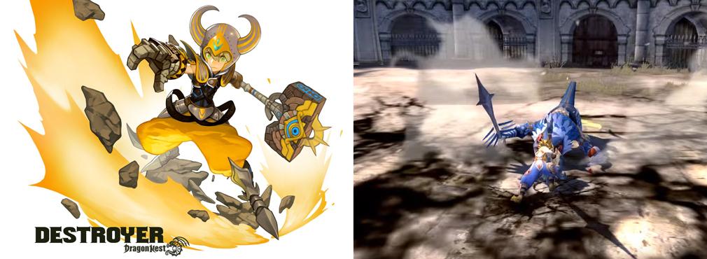ドラゴンネストR(ドラネス) 3次職デストロイヤー(前職マーセナリー)