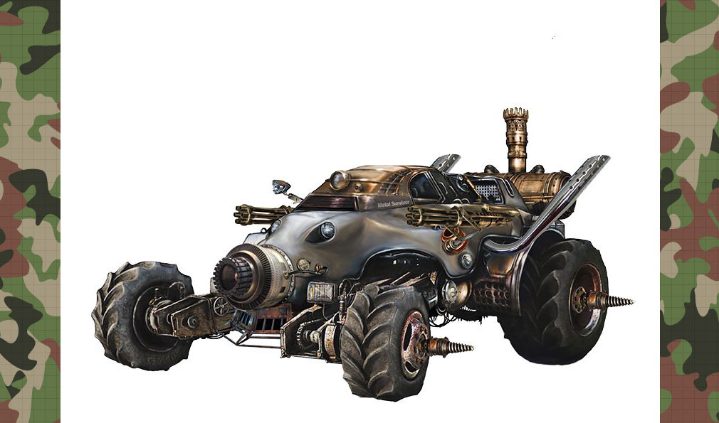 弩龍戦機(ドリセン) 中距離戦闘型