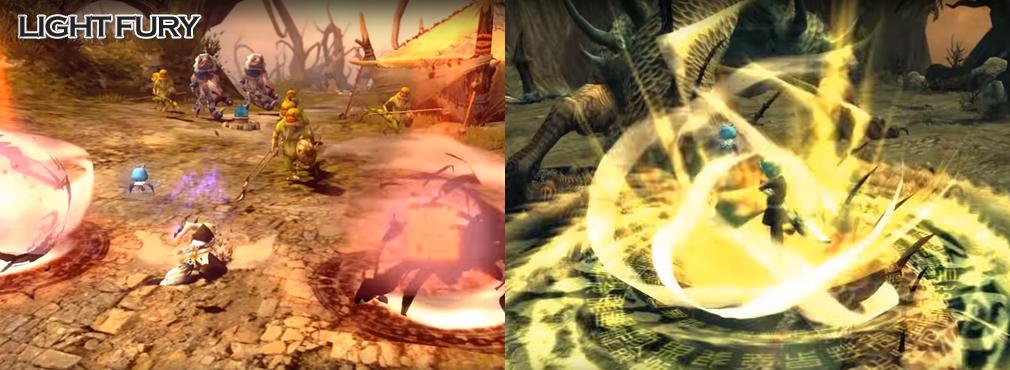 ドラゴンネストR(ドラネス) 3次職ライトフューリー(前職ブリンガー)