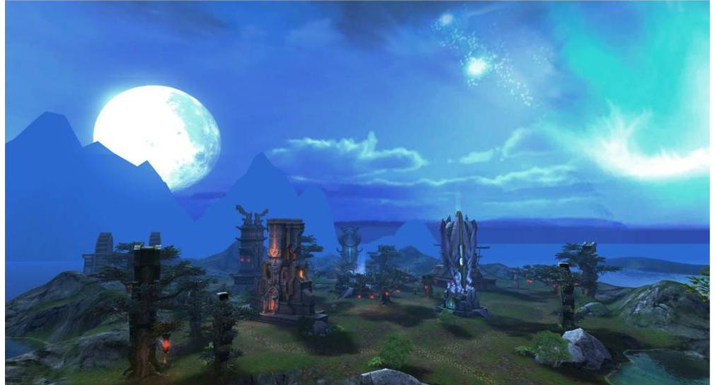 パーフェクトワールド 完美世界(PW) ゲーム内フィールド1