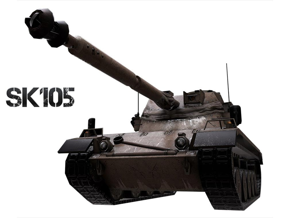 AVA(Alliance of Valiant Arms) BATTLE TANK戦車SK105