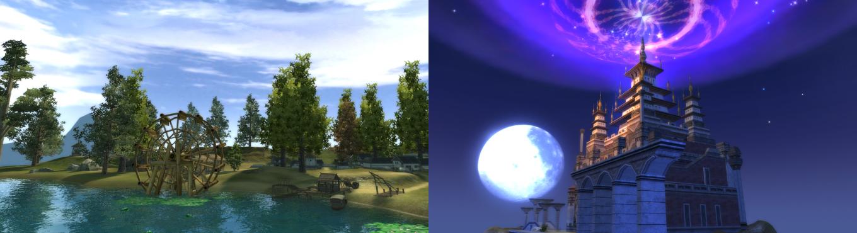 パーフェクトワールド 完美世界(PW) ゲーム内フィールド2
