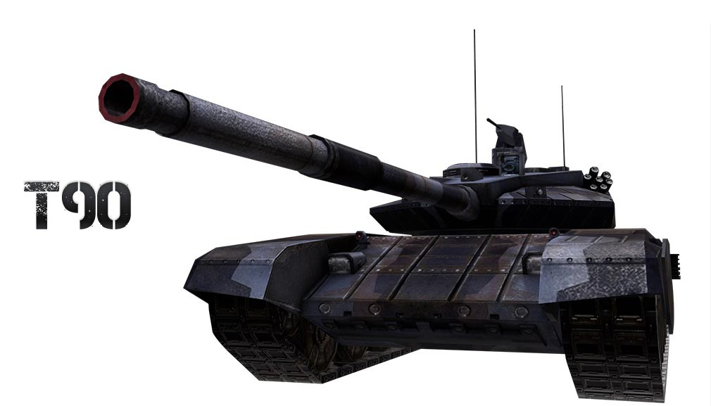 AVA(Alliance of Valiant Arms) BATTLE TANK戦車T90
