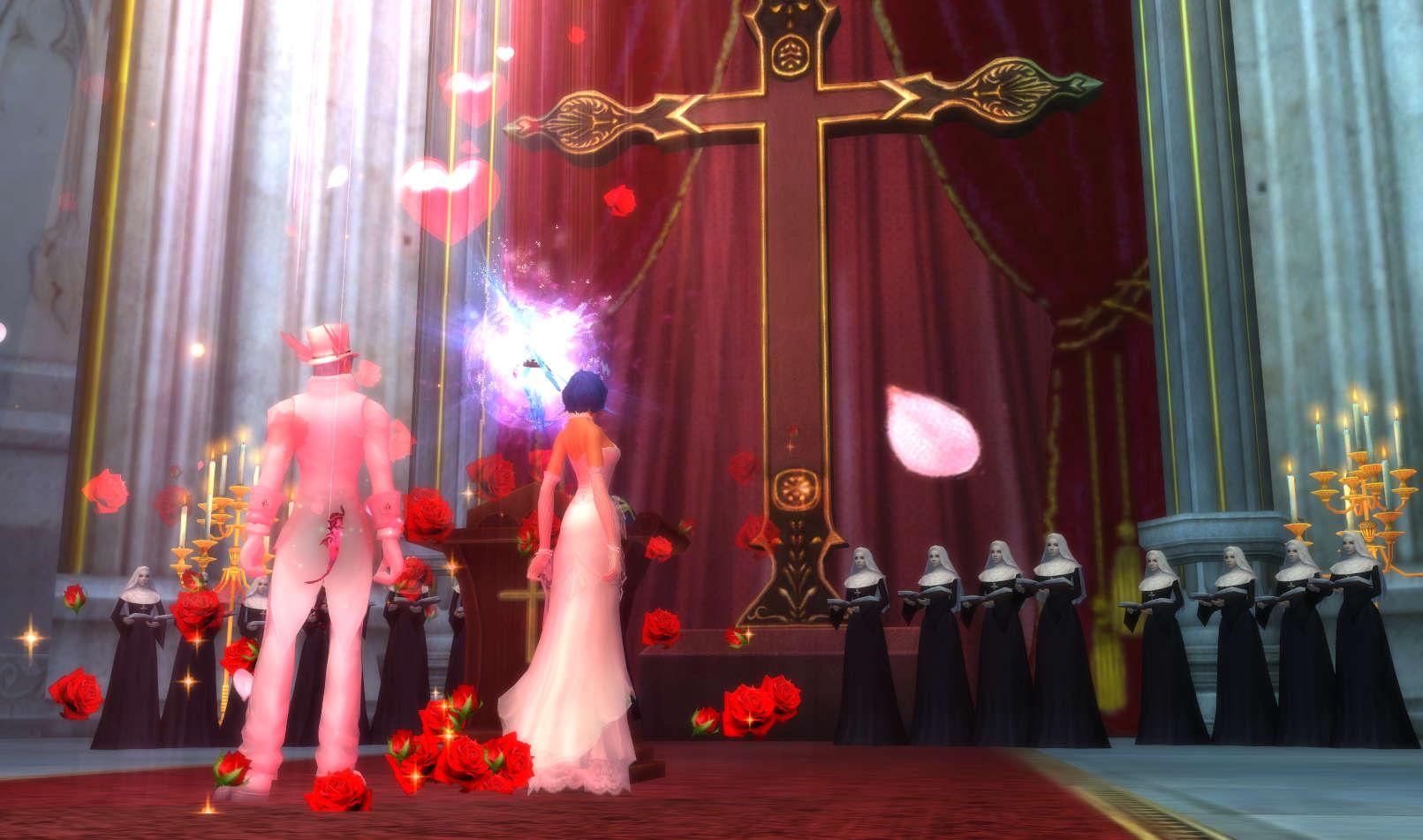 パーフェクトワールド 完美世界(PW) 結婚式