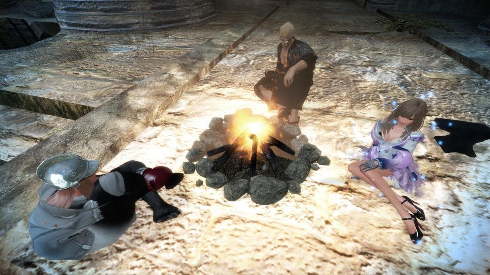 マビノギ英雄伝 焚火