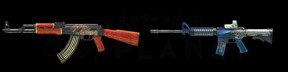 AVA(Alliance of Valiant Arms) スペシャルアイテム『AK47 Dragon』、『M4A1 Tiger』スクリーンショット