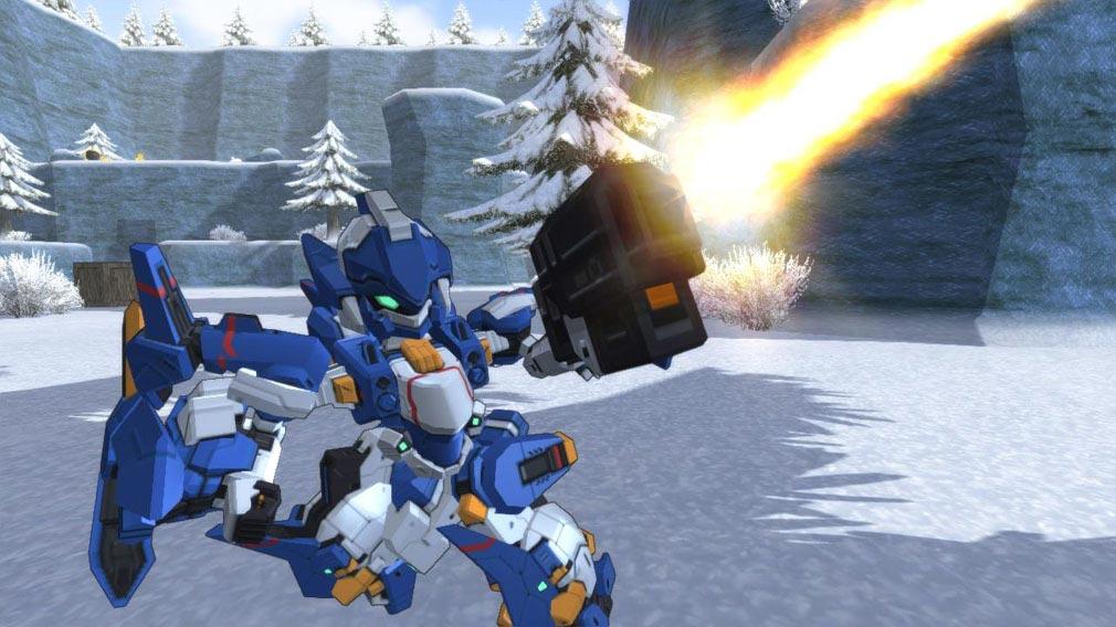 コズミックブレイク2(CB2) ロボ戦闘スクリーンショット