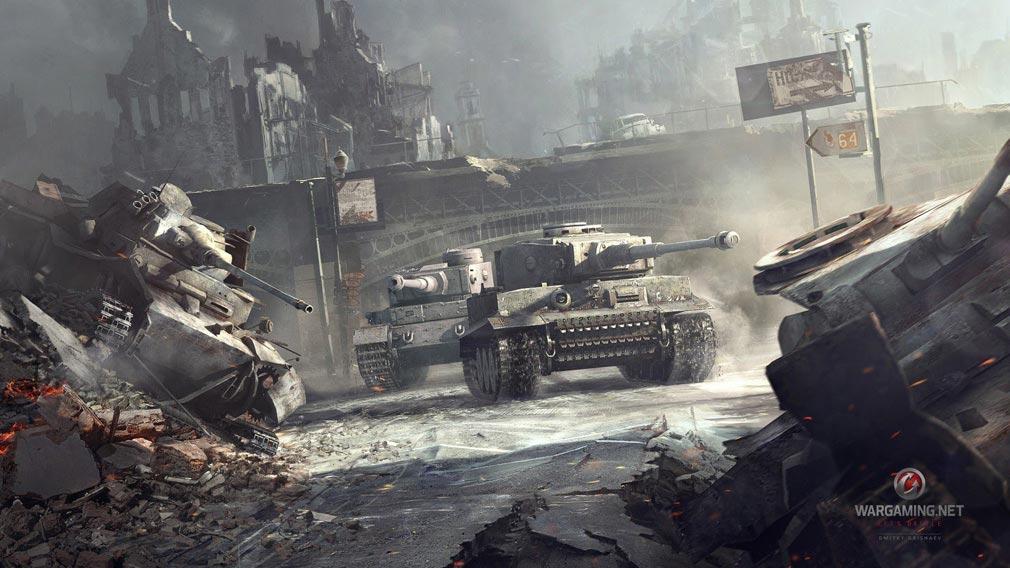 World of Tanks ワールドオブタンクス (WoT) ドイツ代表戦車Tiger1