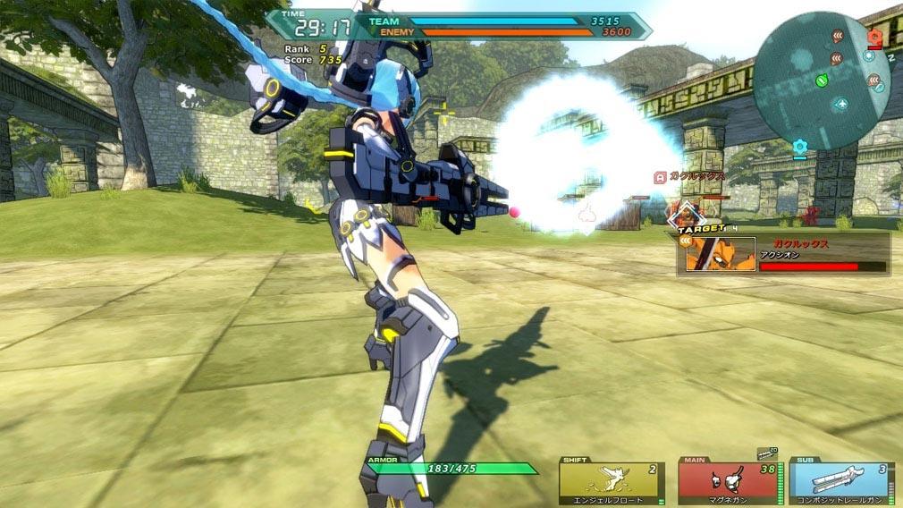 コズミックブレイク2(CB2) フィオナアクション