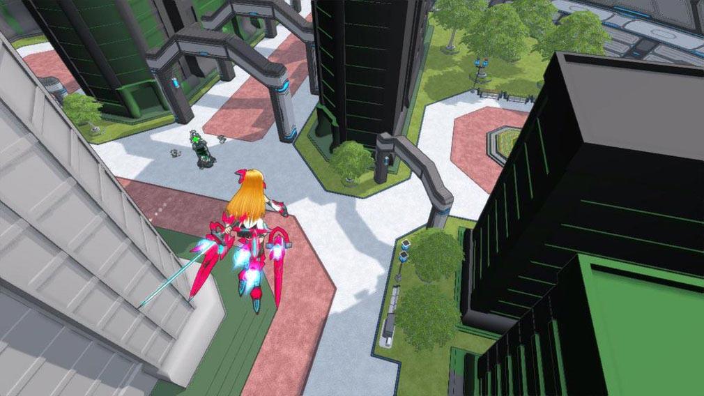 コズミックブレイク2(CB2) コロニー内部の市街戦