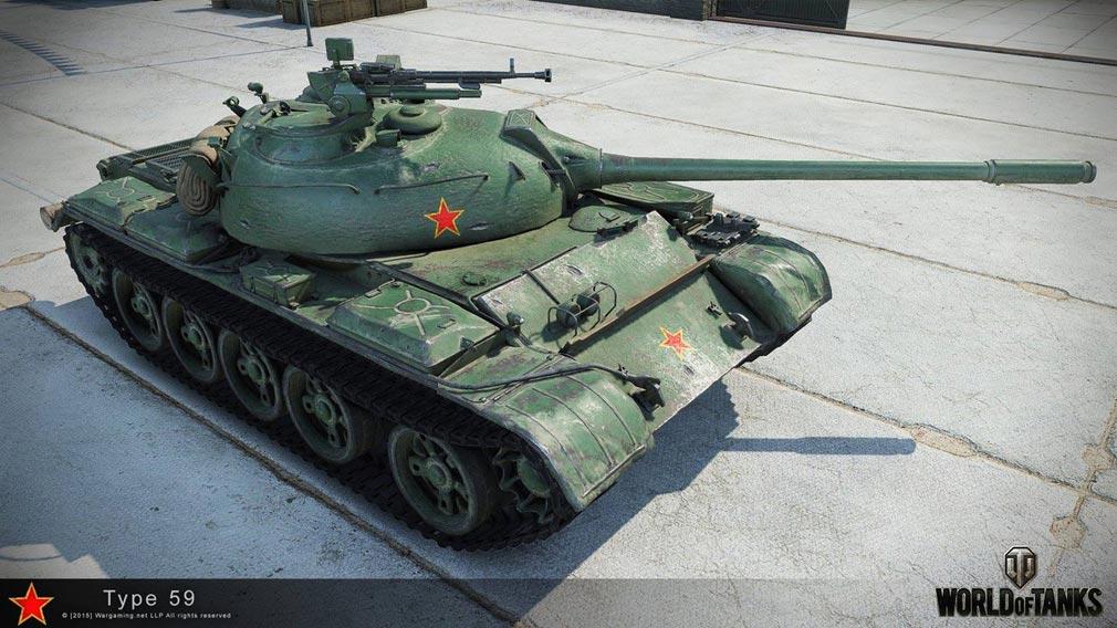 World of Tanks ワールドオブタンクス (WoT) 中国代表戦車T59