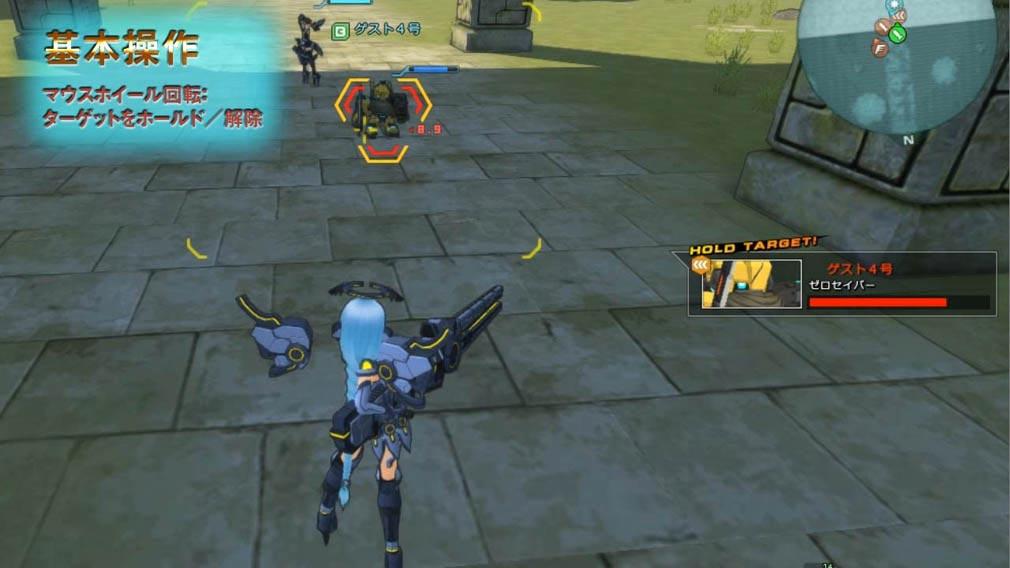 コズミックブレイク2(CB2) 敵ホールド/解除の操作方法