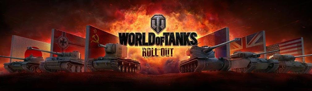 World of Tanks ワールドオブタンクス (WoT) 各国集合イメージ
