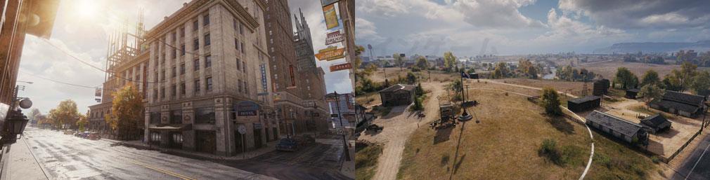World of Tanks ワールドオブタンクス (WoT) 既存MAP『オーヴァーロード』、『レッドシャイア』、『ルインベルク』、『砂の川』のバランス調整スクリーンショット