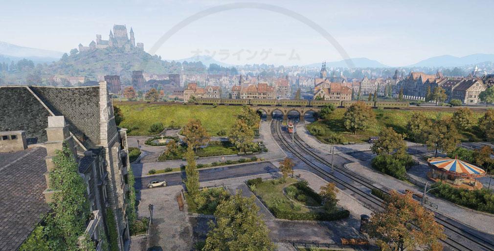 World of Tanks ワールドオブタンクス (WoT) 定番MAP『ワイドパーク』と『高速道路』のフルHD化スクリーンショット