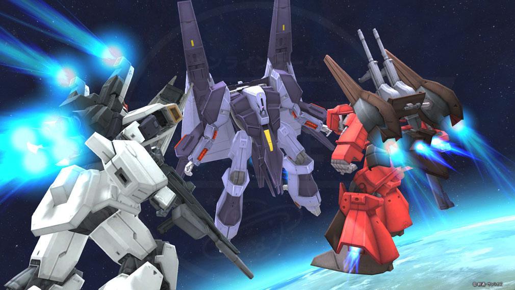 機動戦士ガンダムオンライン(ガンオン) プレイスクリーンショット