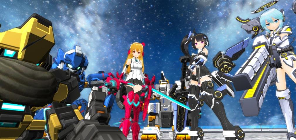 コズミックブレイク2(CB2) プレイアブルキャラクターとロボ達