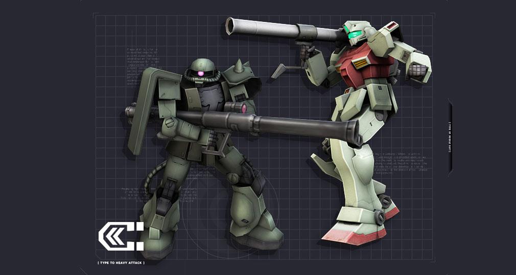 機動戦士ガンダムオンライン(ガンオン) 重撃タイプ
